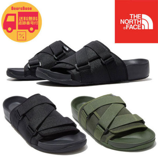 THE NORTH FACE WOVEN SLIDE BBM567 追跡付
