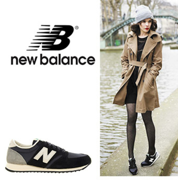 完売間近!!New Balance 420  Trainers Black/Grey