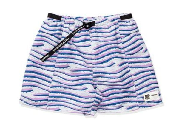 【UNDEFEATED】PRINTED BAGGY SHORT 全2色 要在庫確認