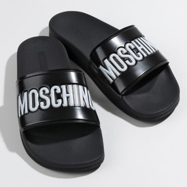MOSCHINO COUTURE! シャワーサンダル MB28022G1A G10 MA28022G0A