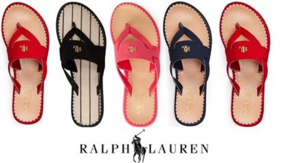 【Ralph Lauren】Rosalind Thong Sandals