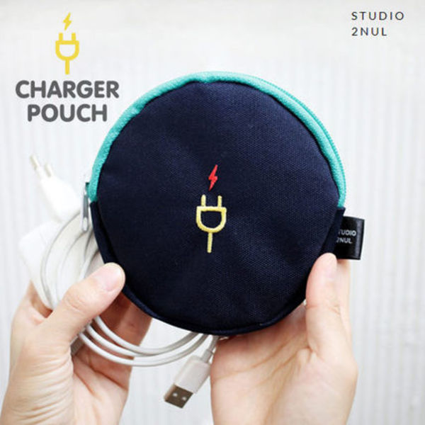 [2nul] CHARGER POUCH S-デジタルポーチ/充電器ポーチ