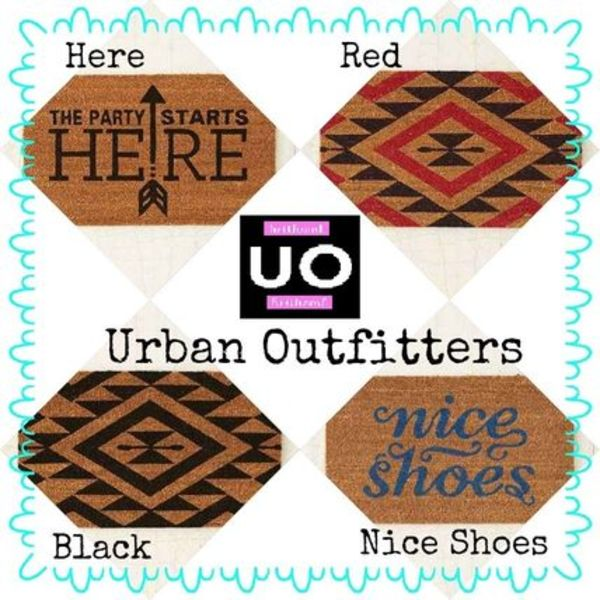 Urban Outfitters ドアマット 4種類 ☆国内発送☆