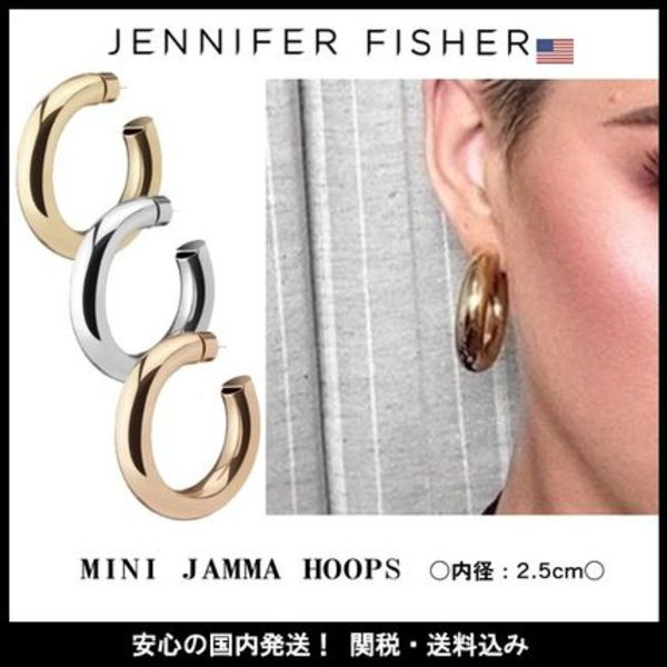 ☆JENNIFER FISHER☆ 日本未入荷!MINI JAMMA HOOPS /全3色