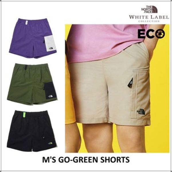 [THE NORTH FACE] M'S GO-GREEN SHORTS 半ズボン パンツ★新作★
