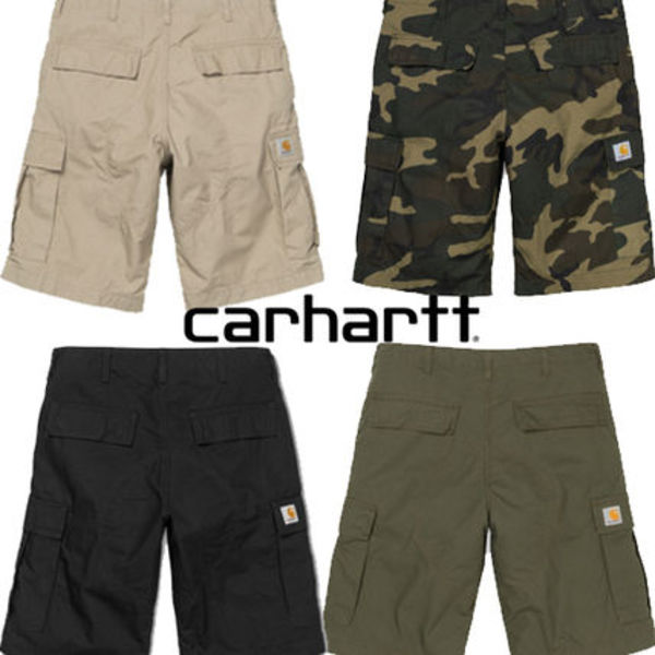 ★20SS新作★CARHARTT★REGULAR CARGO SHORT COLUMBIA_4色