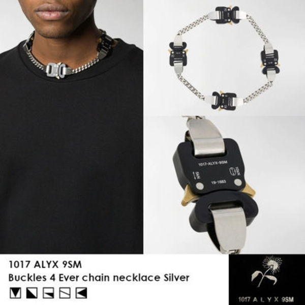 【SS20】1017 ALYX 9SM Buckles 4 Everチェーンネックレス