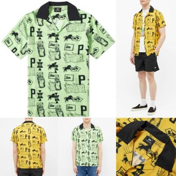 [PATTA] SLEEVE STAMP SHIRT 送料関税無料
