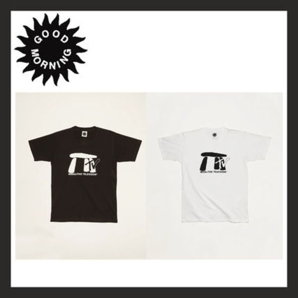Good Morning Tapes★パリ 大人気 Megalithic TV SS Tee