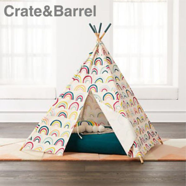 CUTE☆【Crate&Barrel】Rainbow キッズテント