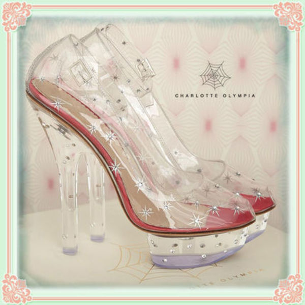 Charlotte Olympia オリンピア IF THE SHOE FITS!  パンプス