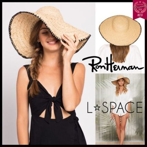 RH取扱 L☆space Beth Hat ストローハット 麦わら帽子 雑誌掲載