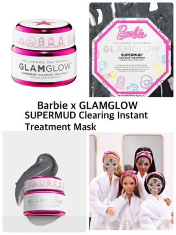 〈GLAMGLOW〉★ Barbie★ SUPERMUD Clearing Treatment Mask