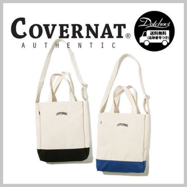 COVERNAT ARCH LOGO TWOTONE ECO BAG AI109 追跡付