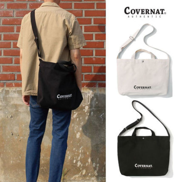 ★COVERNAT★ C1801BG03 AUTHENTIC LOGO 2WAY BAG エコバック