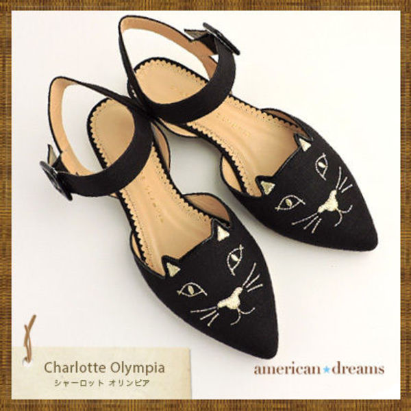 SALE★  Charlotte Olympia 人気ネコモチーフ♪パンプス