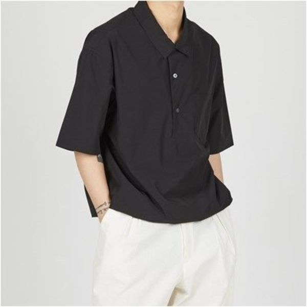 日本未入荷!!【JUNOUI】Napoli Skipper Short Sleevesシャツ/3色
