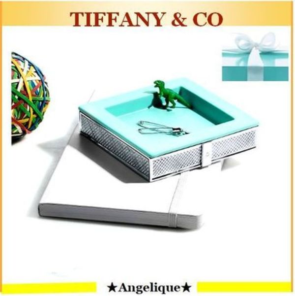TIFFANY★お部屋をお洒落にDiamond Point Square Dish