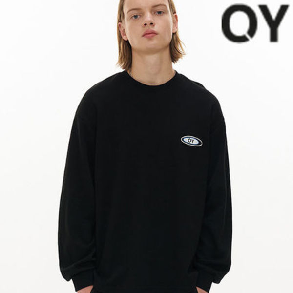 ★OY★TRIPLE LINE LOGO SLEEVE T-BLACK★正規品/韓国直送料込