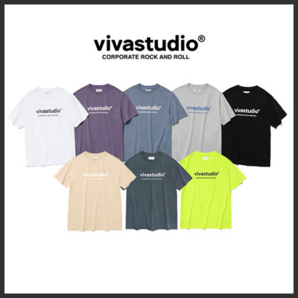 ◆VIVASTUDIO◆ ORIGINAL LOGO SHORT SLEEVE JS (8色) 半袖 人気