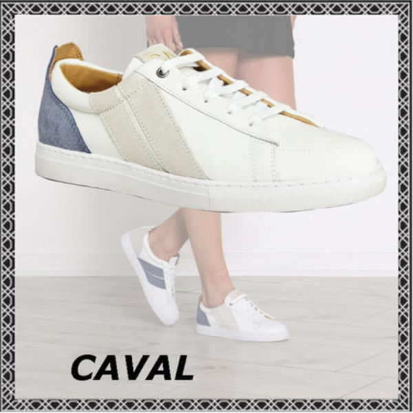 ★CAVAL (キャヴァル)★KORBEN & LEELOO TRAINERS BLUE COSMO