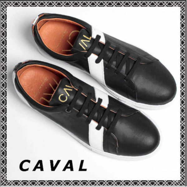 ★CAVAL (キャヴァル)★VINCENT & MIA TRAINERS  Black Divine