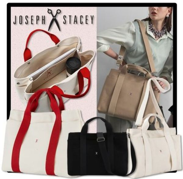 ★送料・関税込★JOSEPH&STACEY★Stacey Daytrip Tote Canvas