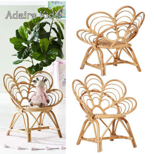 【Adairs】Oasis Rattan 1 Seater Chair★キッズ用★追跡付
