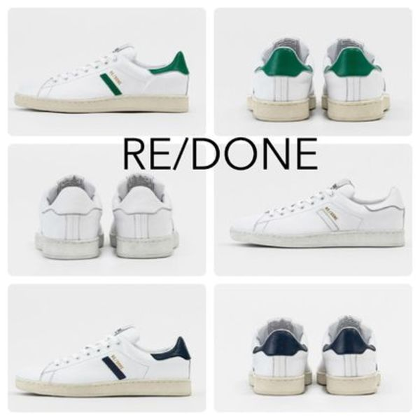[RE/DONE]    70s Tennis Shoe   3Color ★残りわずか★