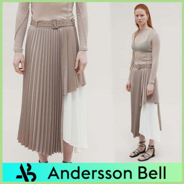 【ANDERSSON BELL】MELANIE DOUBLE LAYERED CUTOUT スカート