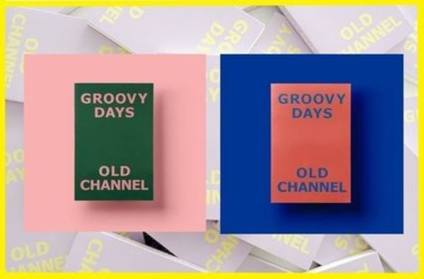 ★OLD CHANNEL★GROOVY DAYS DIARY 3color/追跡有