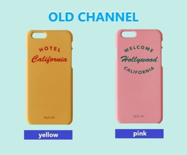 ★OLD CHANNEL★Phone case 2color / 正規品・追跡有