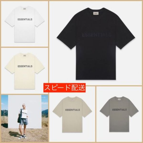 国内即発 [FOG] Essentials Boxy Logo T-Shirt Tシャツ
