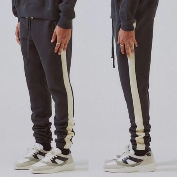 FOG  Essentials Side Stripe Sweatpants 19AW 黒