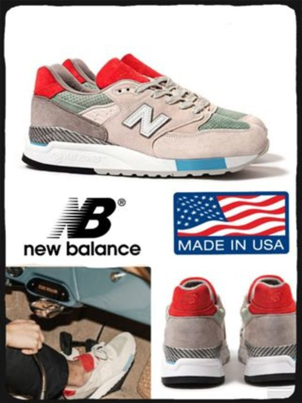 【海外限定】CONCEPTS x NEW BALANCE 998 GRAND TOURER