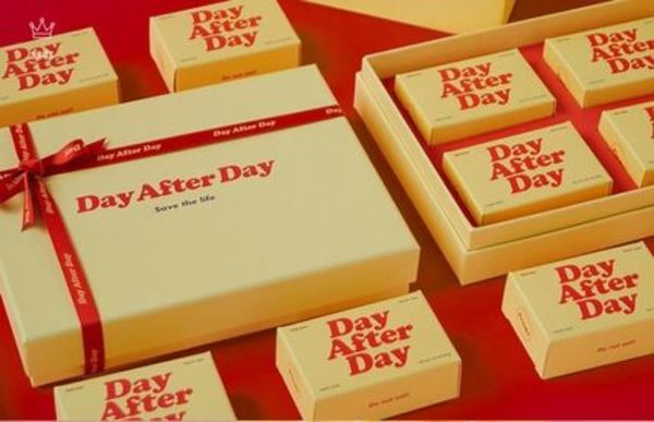 【DayAfterDay】4個入り GIFT Package : Yellow Set