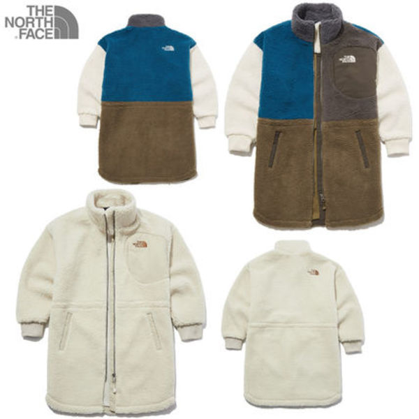 [THE NORTH FACE] K'S CHENA FLEECE COAT ☆大人気☆