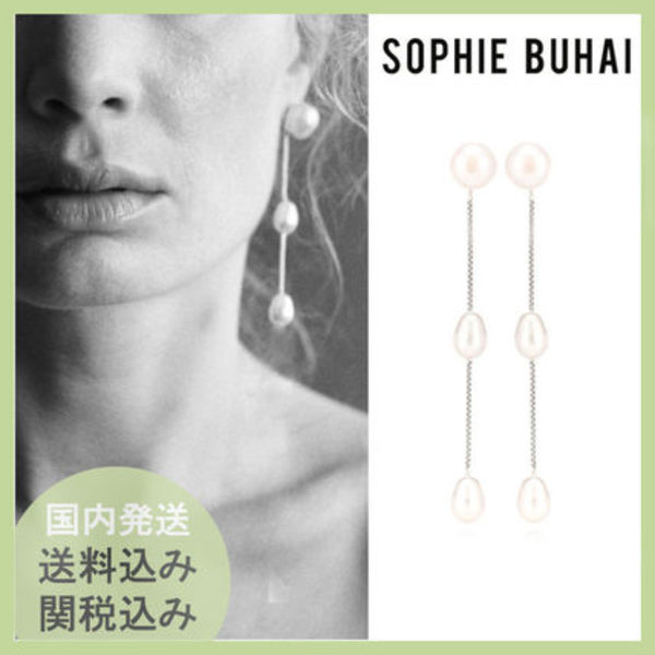 ★Sophie Buhai★ SMALL PEARL DROP EARRING ピアス