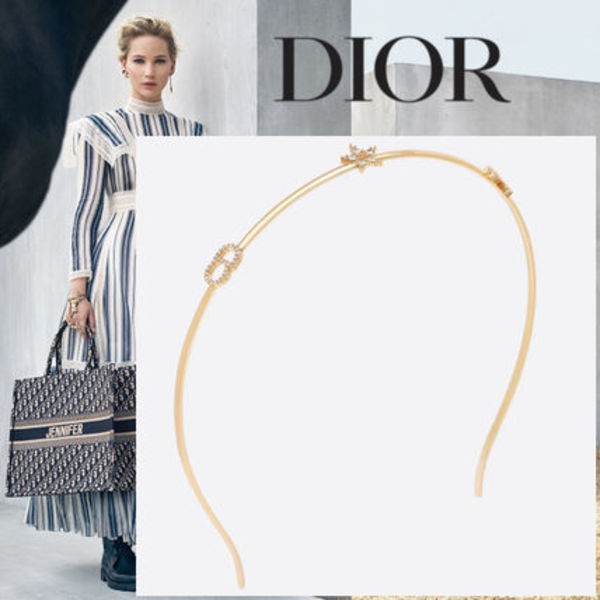 """☆19-20AW☆ DIOR """"CLAIR D LUNE"""" ヘアバンド"""