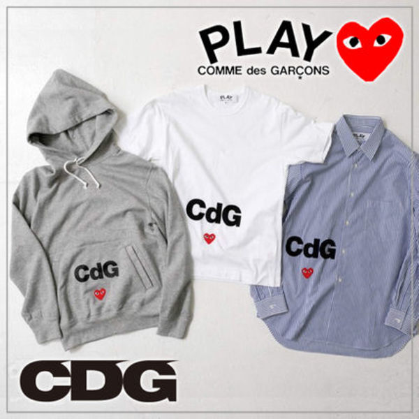 【COMME des GARCONS】PLAY CDG LADY'S コラボカットソー