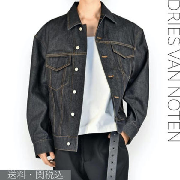 Dries van noten★oversized denim jacket 国内発送・送関込