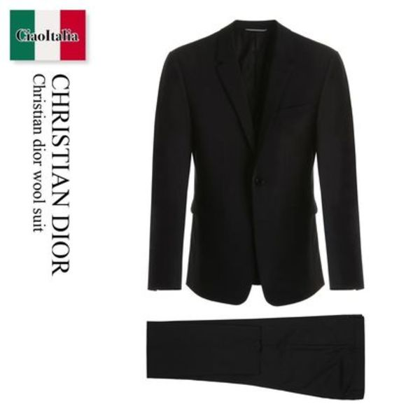CHRISTIAN DIOR Wool Suit