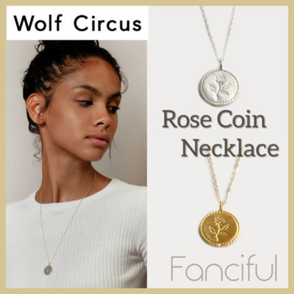 【Wolf Circus】ローズネックレス Rose Necklace