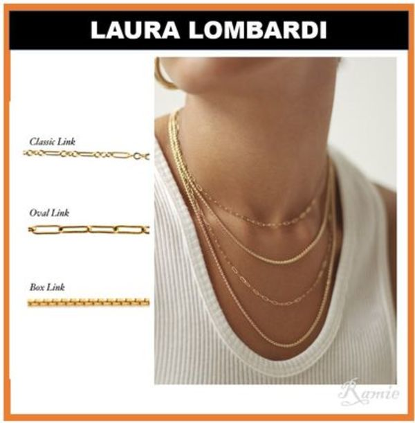 【LAURA LOMBARDI】Essential Necklace◆チェーンネックレス