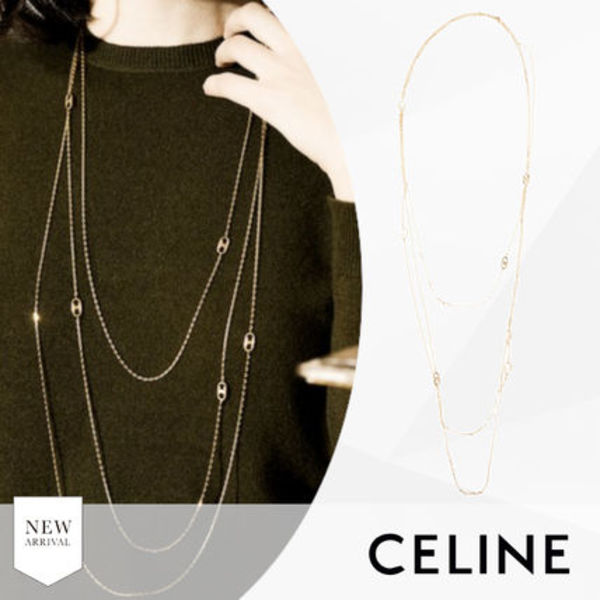 20SS/SALE【CELINE セリーヌ】トリオンフ Triomphe ネックレス
