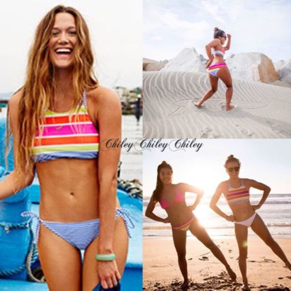 【ROXY】Sail Away Halter Tie Side Bikini/ビキニセット