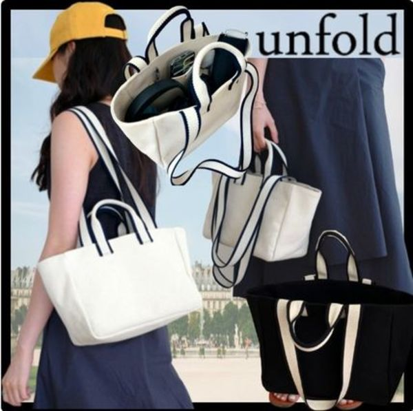 ★送料・関税込★unfold★Mini Two-tone Strap Bag★バッグ