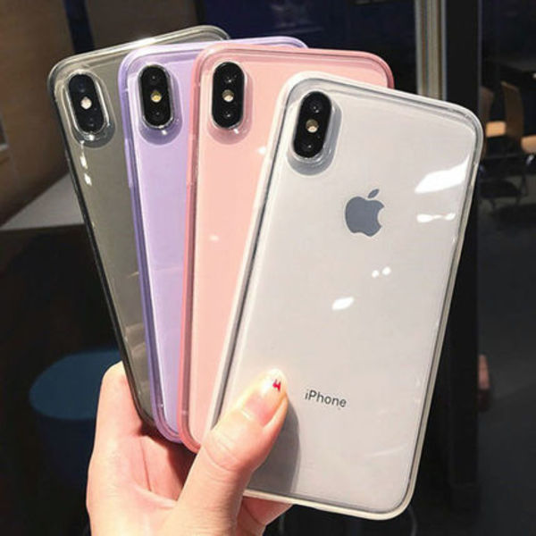 iPhone11 Pro Max X XR XSMax 8 Plus ケース ソフト クリア 透明