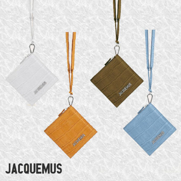 AW20-21新作【JACQUEMUS】Le pitchou carre ミニ コインケース