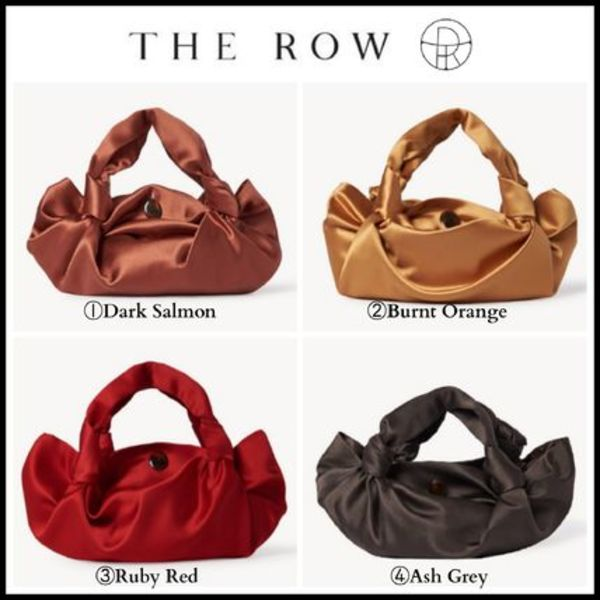 2020Cruise!! 人気 ☆The Row☆ Ascot Two Bag in Silk